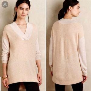 Anthropologie Moth Boucle Alpaca Wool Sweater Top